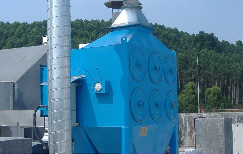 矿山滤筒除尘器