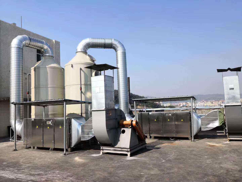 化学洗涤塔废气净化设备