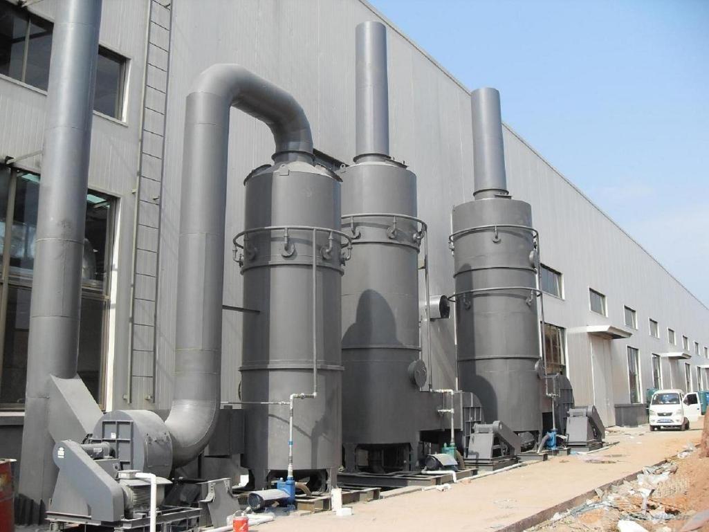喷淋塔-锅炉烟气脱硫除尘器的核心设备
