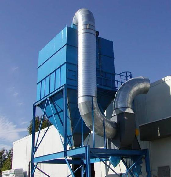 某金属公司有限空间内实现高效除尘