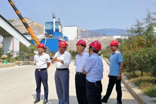 周杰副厅长赴枣庄市调研建材行业环保整治工作