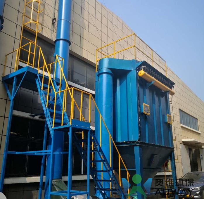 烟台某机械铸造公司粉尘废气治理顺利通过验收
